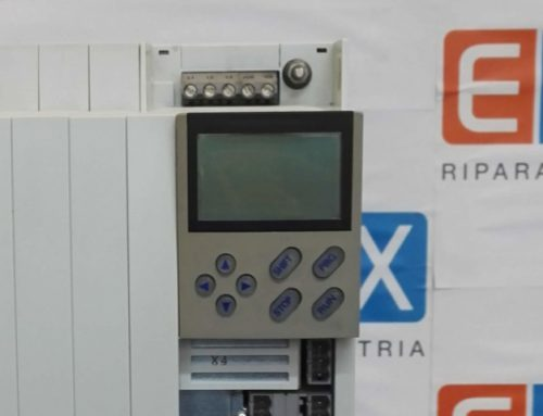 Errore LU message su servoinverter Lenze 9300