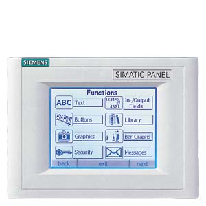 TP170A TOUCH PANEL BLUE MODE STN-DISPLAY