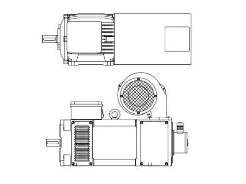 Motore DC serie MGx