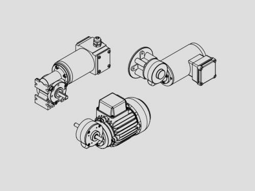 Motori DC a magneti permanenti Lenze